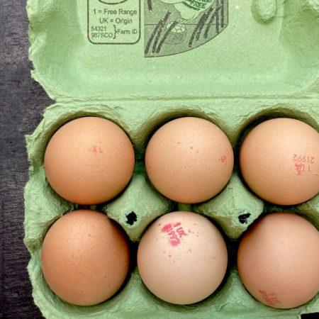 Free Range Eggs – Large